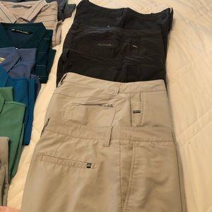 Travis Mathew golf shorts size 36